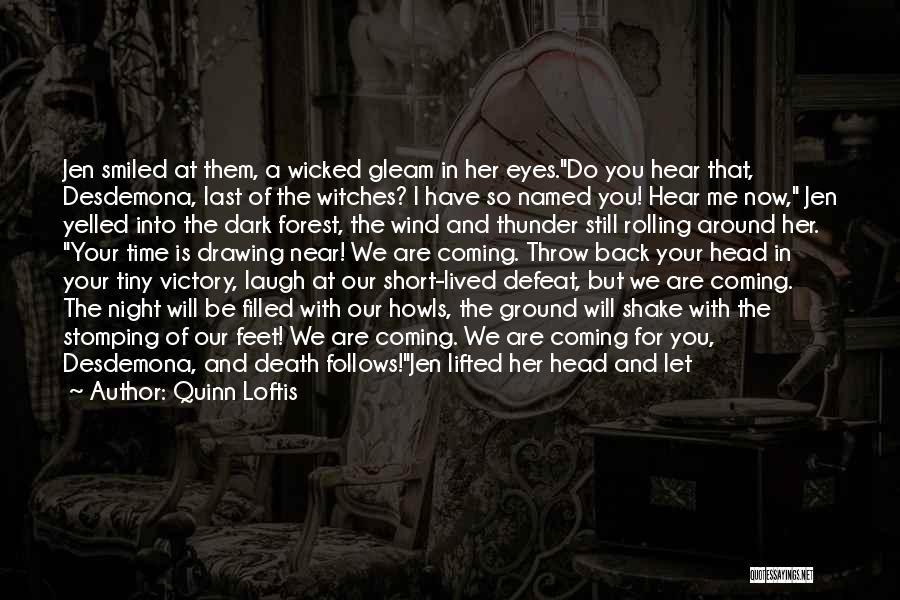 You Let Me Down Love Quotes By Quinn Loftis