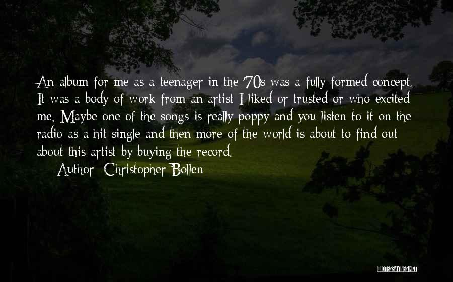 You Liked Me Quotes By Christopher Bollen