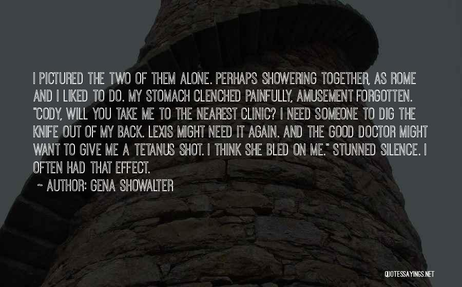 You Liked Me Quotes By Gena Showalter