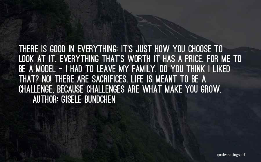 You Liked Me Quotes By Gisele Bundchen