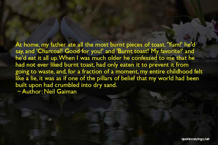 You Liked Me Quotes By Neil Gaiman
