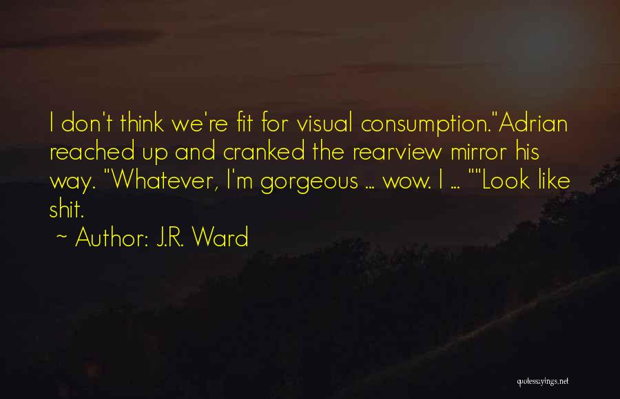 You Look So Gorgeous Quotes By J.R. Ward