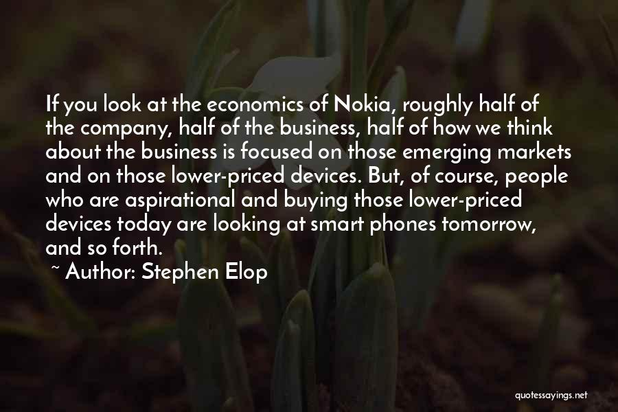 You Look So Smart Quotes By Stephen Elop