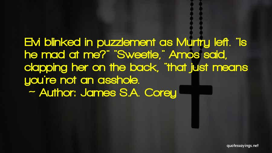 You Mad Quotes By James S.A. Corey
