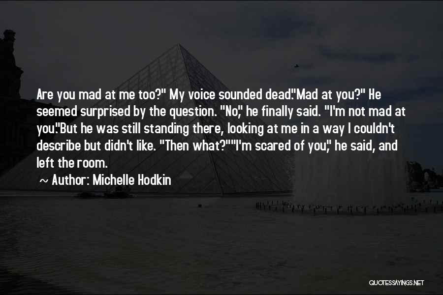 You Mad Quotes By Michelle Hodkin
