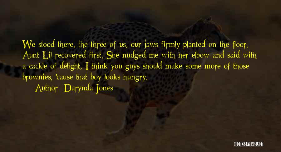 You Make Me Think Quotes By Darynda Jones