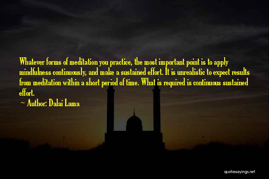 You Make Time What's Important Quotes By Dalai Lama