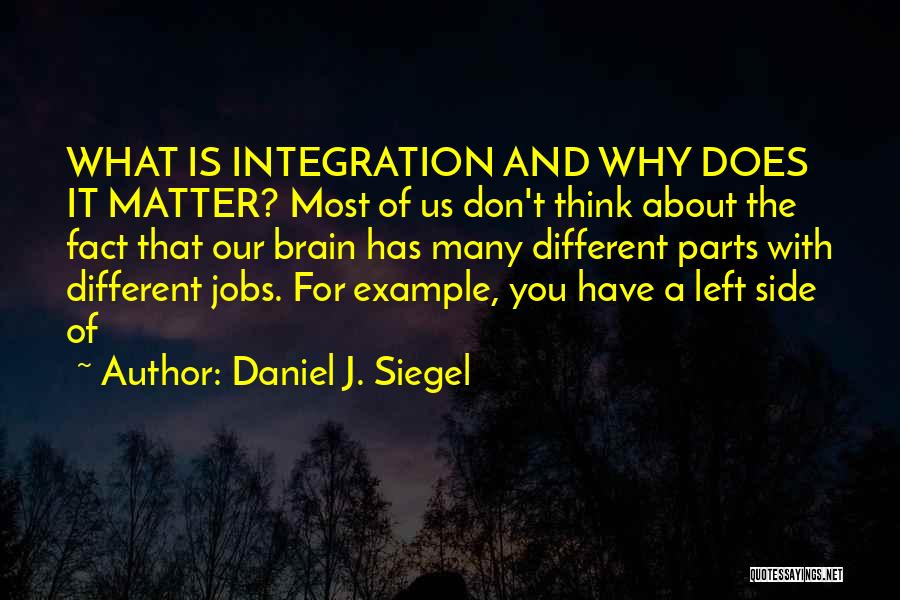You Matter Most Quotes By Daniel J. Siegel