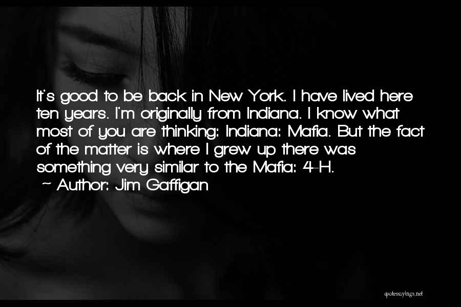 You Matter Most Quotes By Jim Gaffigan