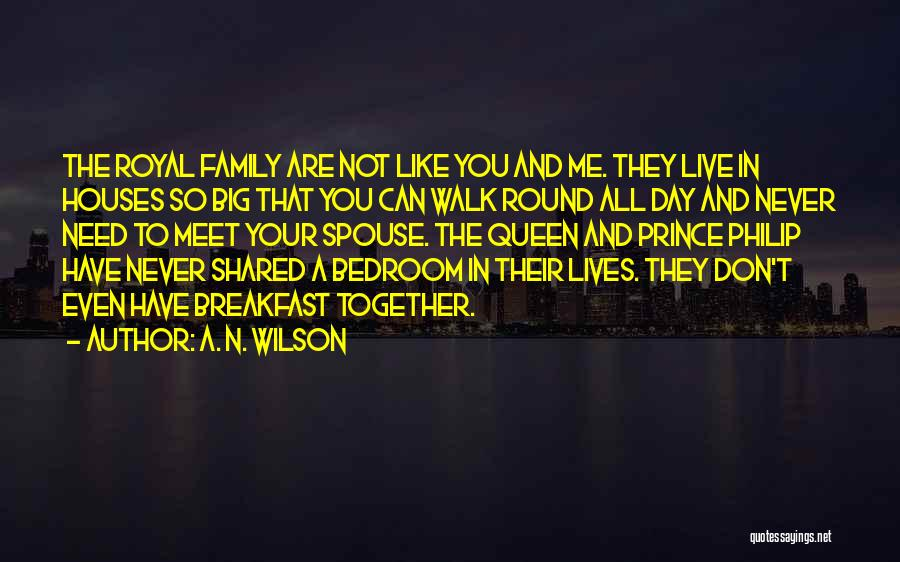 You Meet Me Quotes By A. N. Wilson