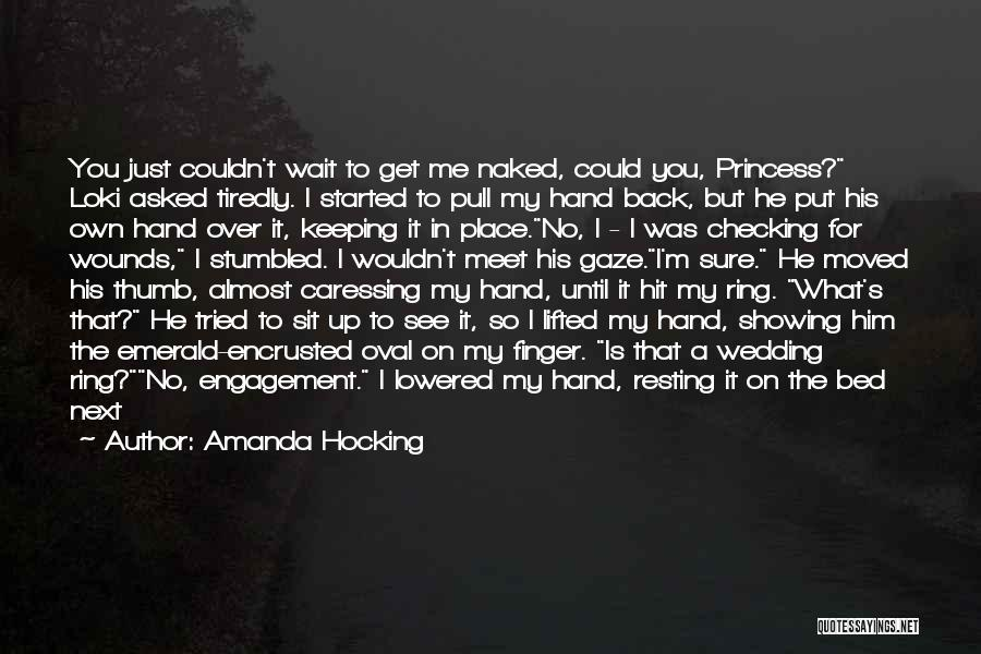You Meet Me Quotes By Amanda Hocking
