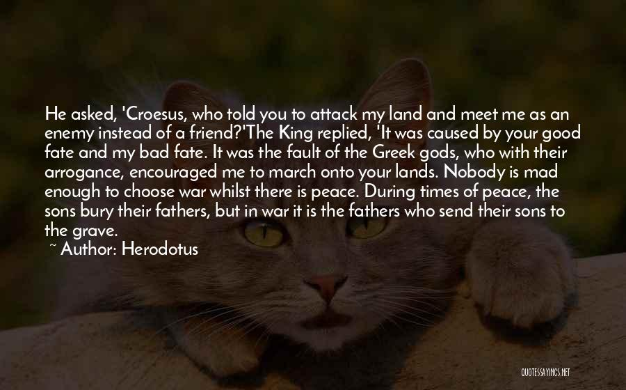 You Meet Me Quotes By Herodotus