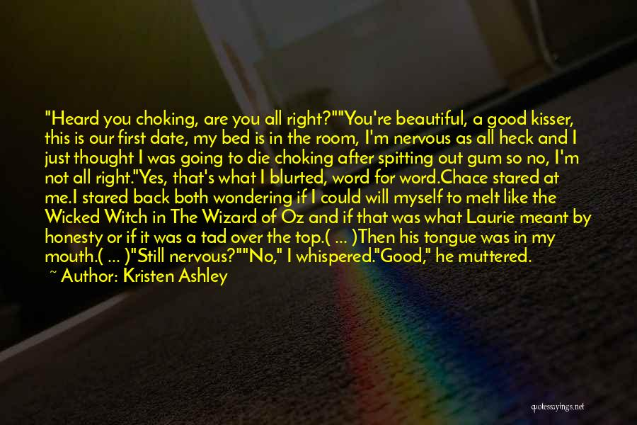 You Melt Me Quotes By Kristen Ashley