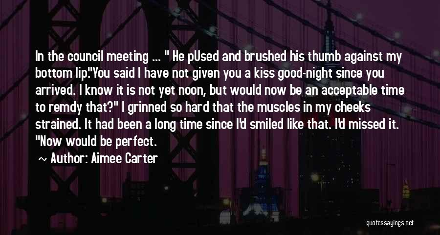 You Missed It Quotes By Aimee Carter