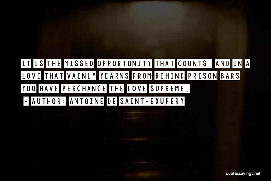 You Missed It Quotes By Antoine De Saint-Exupery