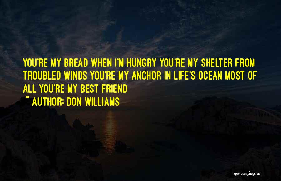 You My Best Friend Quotes By Don Williams