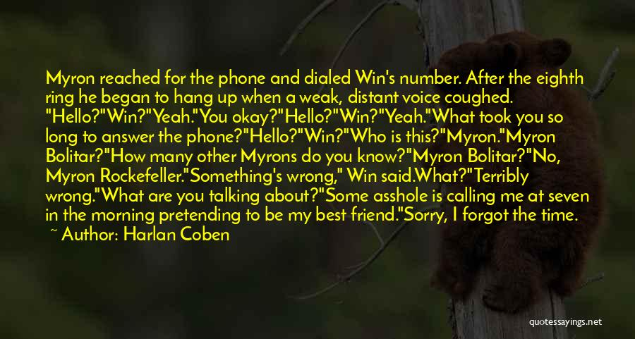 You My Best Friend Quotes By Harlan Coben