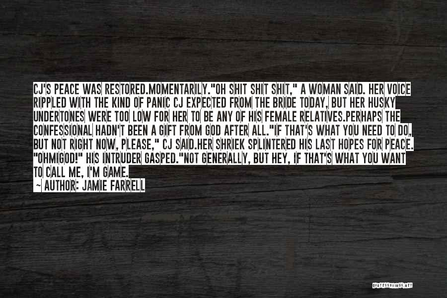 You Need God Quotes By Jamie Farrell