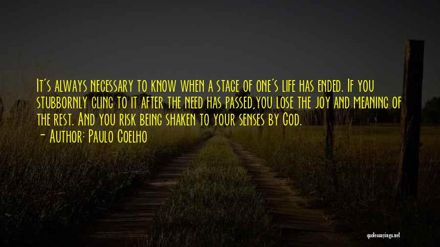 You Need God Quotes By Paulo Coelho