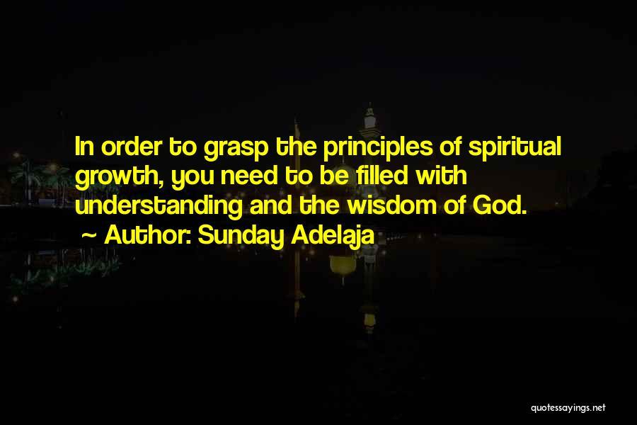 You Need God Quotes By Sunday Adelaja
