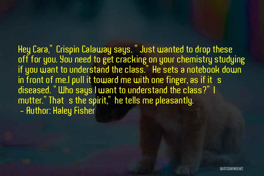 You Need To Calm Down Quotes By Haley Fisher