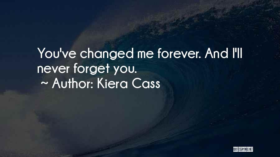 You Never Love Me Quotes By Kiera Cass