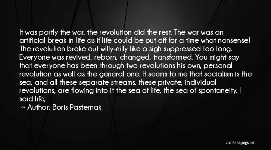 You Not Like Me Quotes By Boris Pasternak