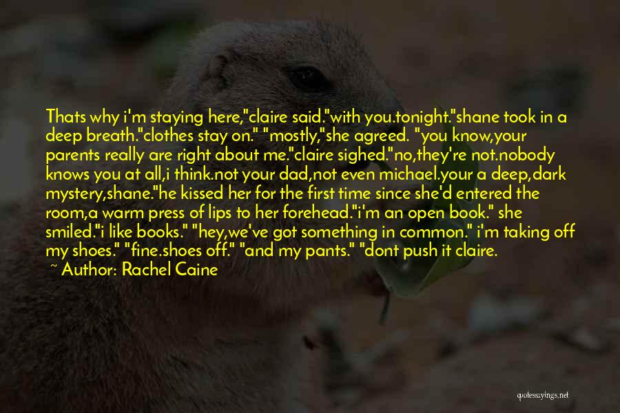 You Not Like Me Quotes By Rachel Caine