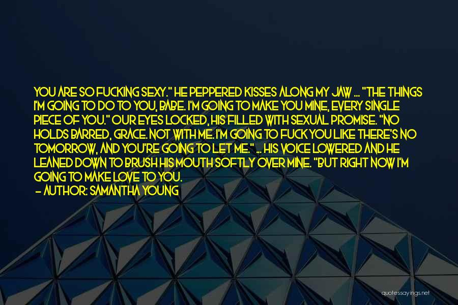 You Not Like Me Quotes By Samantha Young