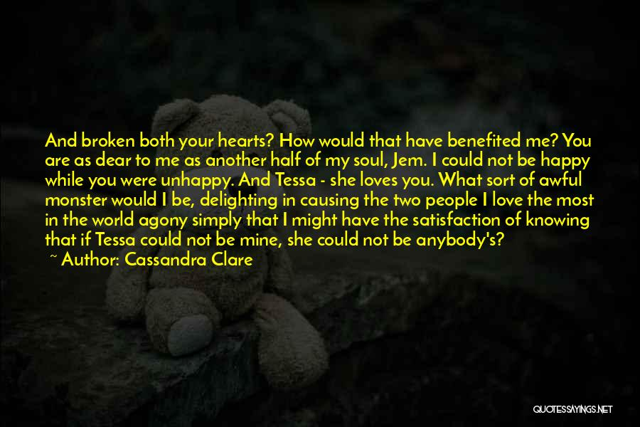 You Not Mine Quotes By Cassandra Clare