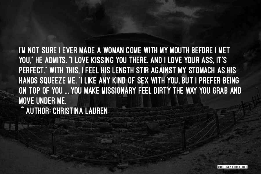 You Not Perfect Quotes By Christina Lauren