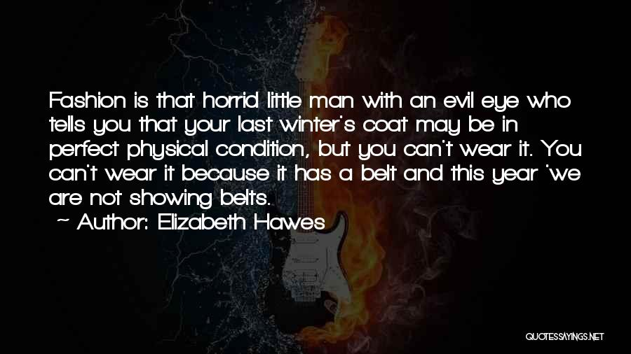 You Not Perfect Quotes By Elizabeth Hawes