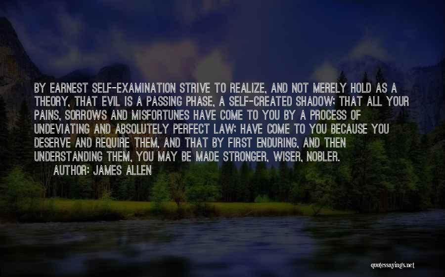 You Not Perfect Quotes By James Allen