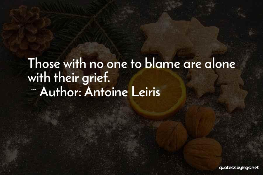 You Only Got Yourself To Blame Quotes By Antoine Leiris