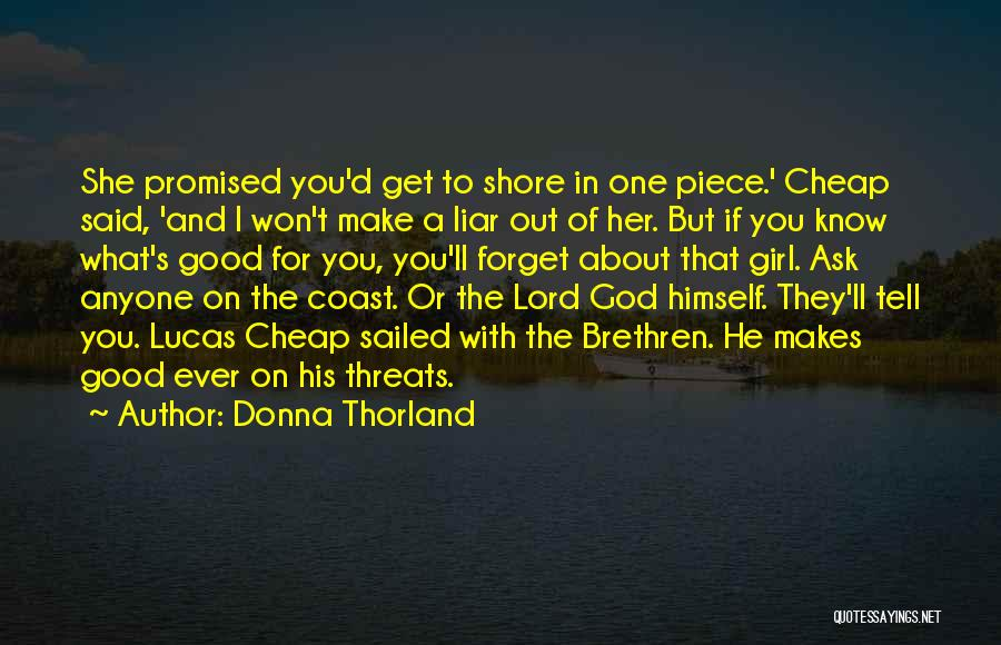 You Promised Quotes By Donna Thorland