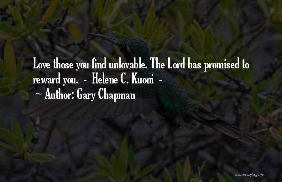 You Promised Quotes By Gary Chapman