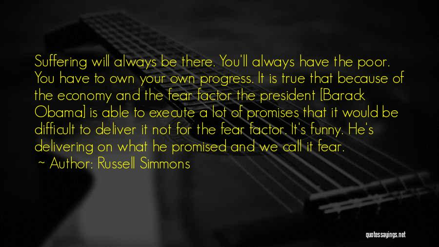 You Promised Quotes By Russell Simmons