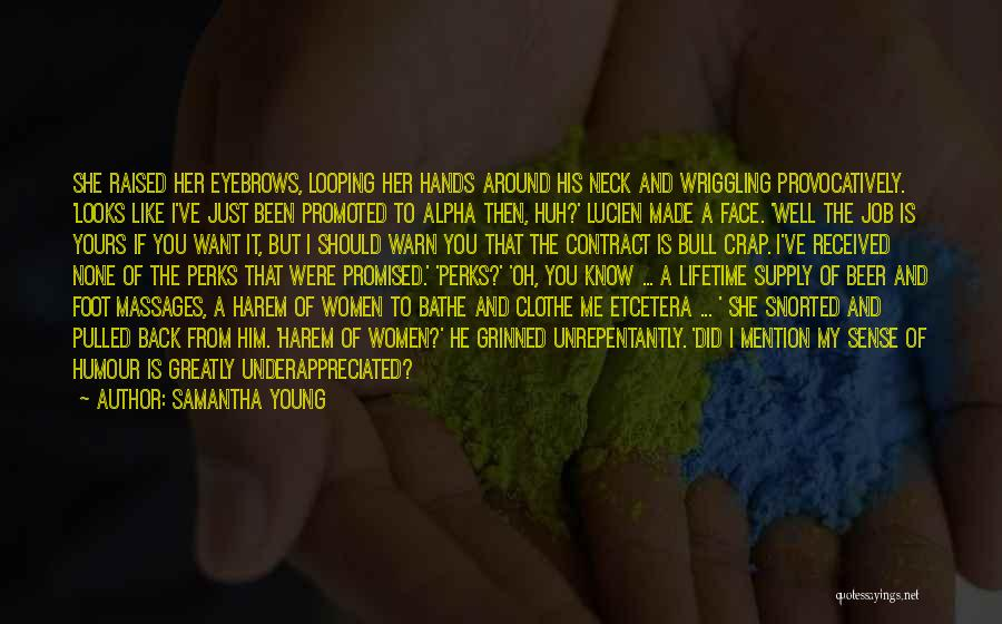 You Promised Quotes By Samantha Young