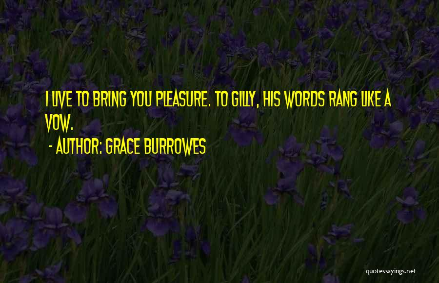 You Rang M'lord Quotes By Grace Burrowes