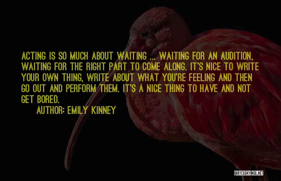 You Re Not Nice Quotes By Emily Kinney