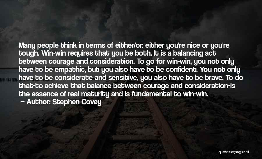 You Re Not Nice Quotes By Stephen Covey
