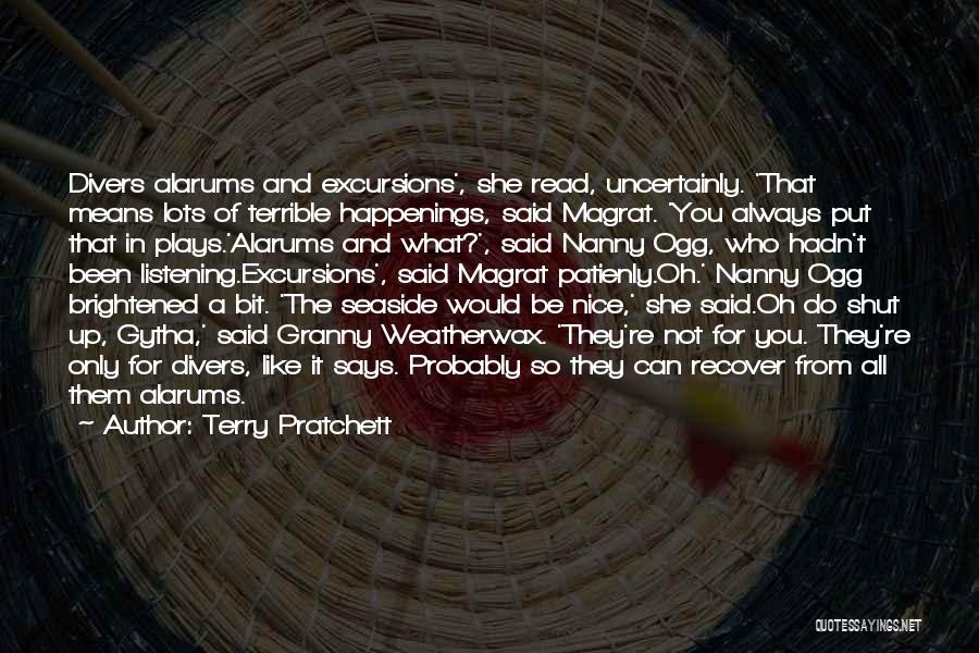 You Re Not Nice Quotes By Terry Pratchett