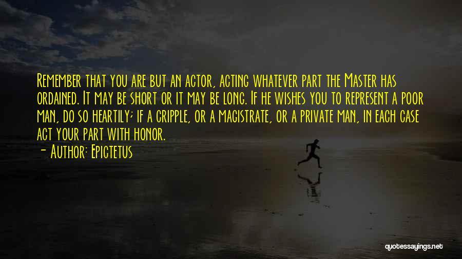 You Represent Quotes By Epictetus