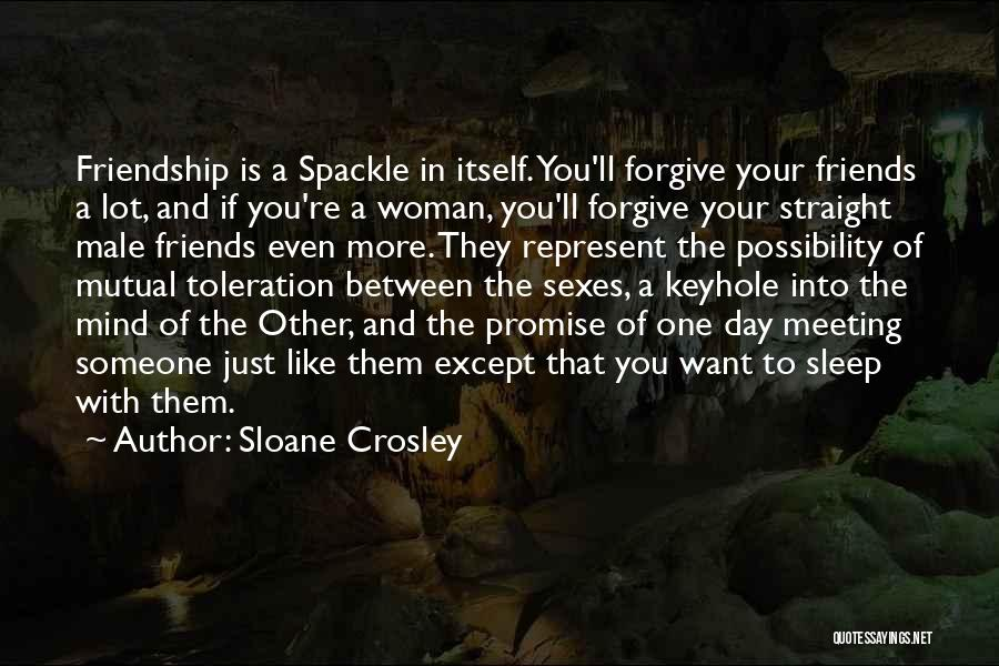 You Represent Quotes By Sloane Crosley