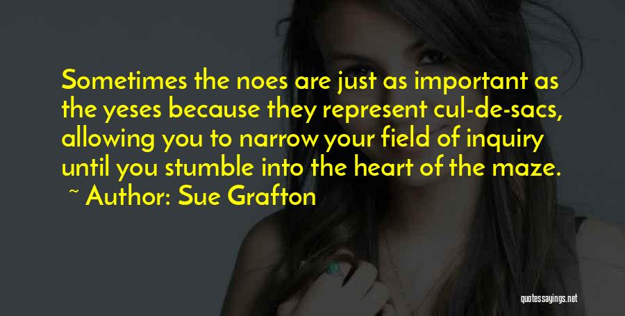 You Represent Quotes By Sue Grafton