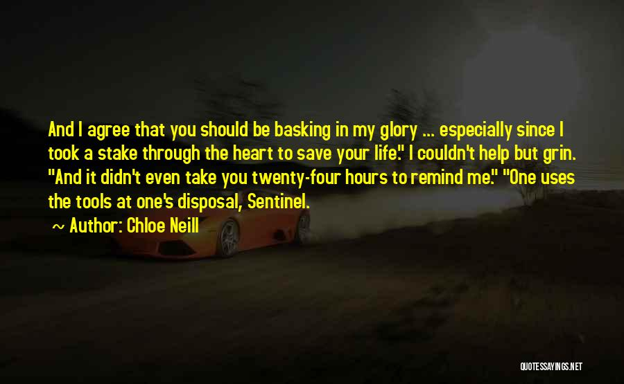 You Save My Heart Quotes By Chloe Neill