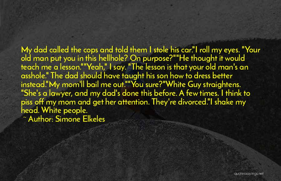 You Should Have Told Me Quotes By Simone Elkeles