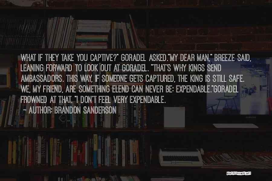 You Still My Friend Quotes By Brandon Sanderson