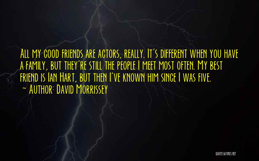 You Still My Friend Quotes By David Morrissey