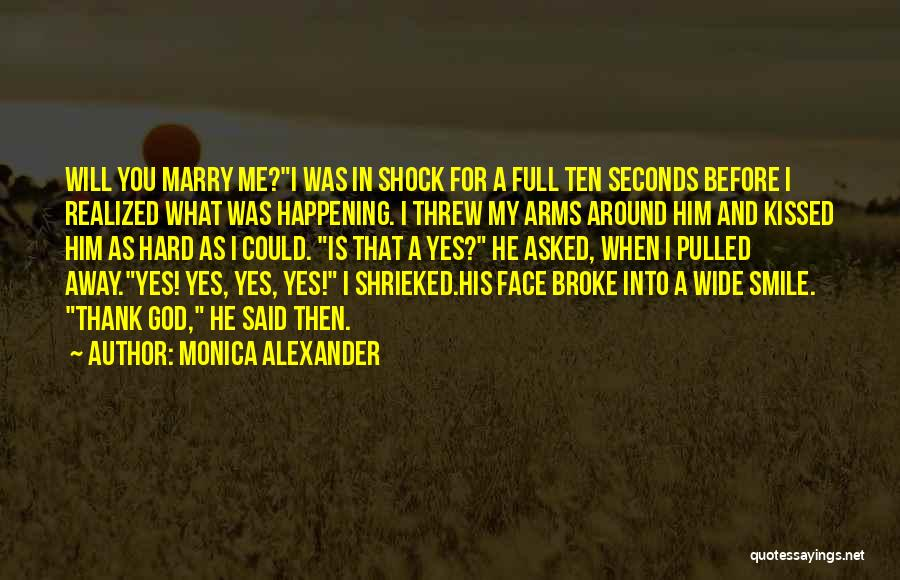 You Threw Me Away Quotes By Monica Alexander
